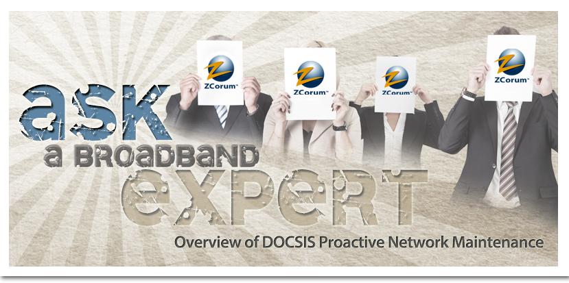 DOCSIS Proactive Network Maintenance White Paper Header